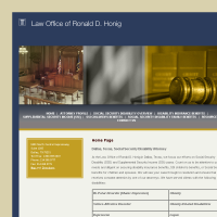Law Office of Ronald D. Honig