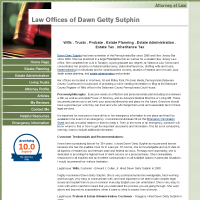 Dawn Getty Sutphin, Attorney at Law