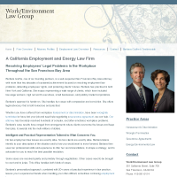 Work/Environment Law Group
