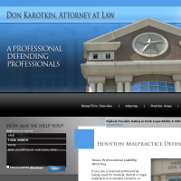 Don Karotkin, Attorney at Law