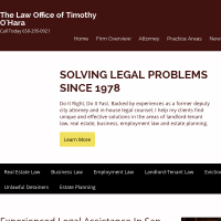 The Law Office Of Timothy O'Hara
