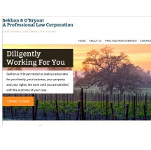 Sekhon & O'Bryant, A Professional Law Corporation Image