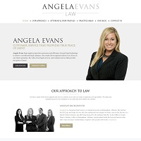 Angela Evans Law, PC. Image