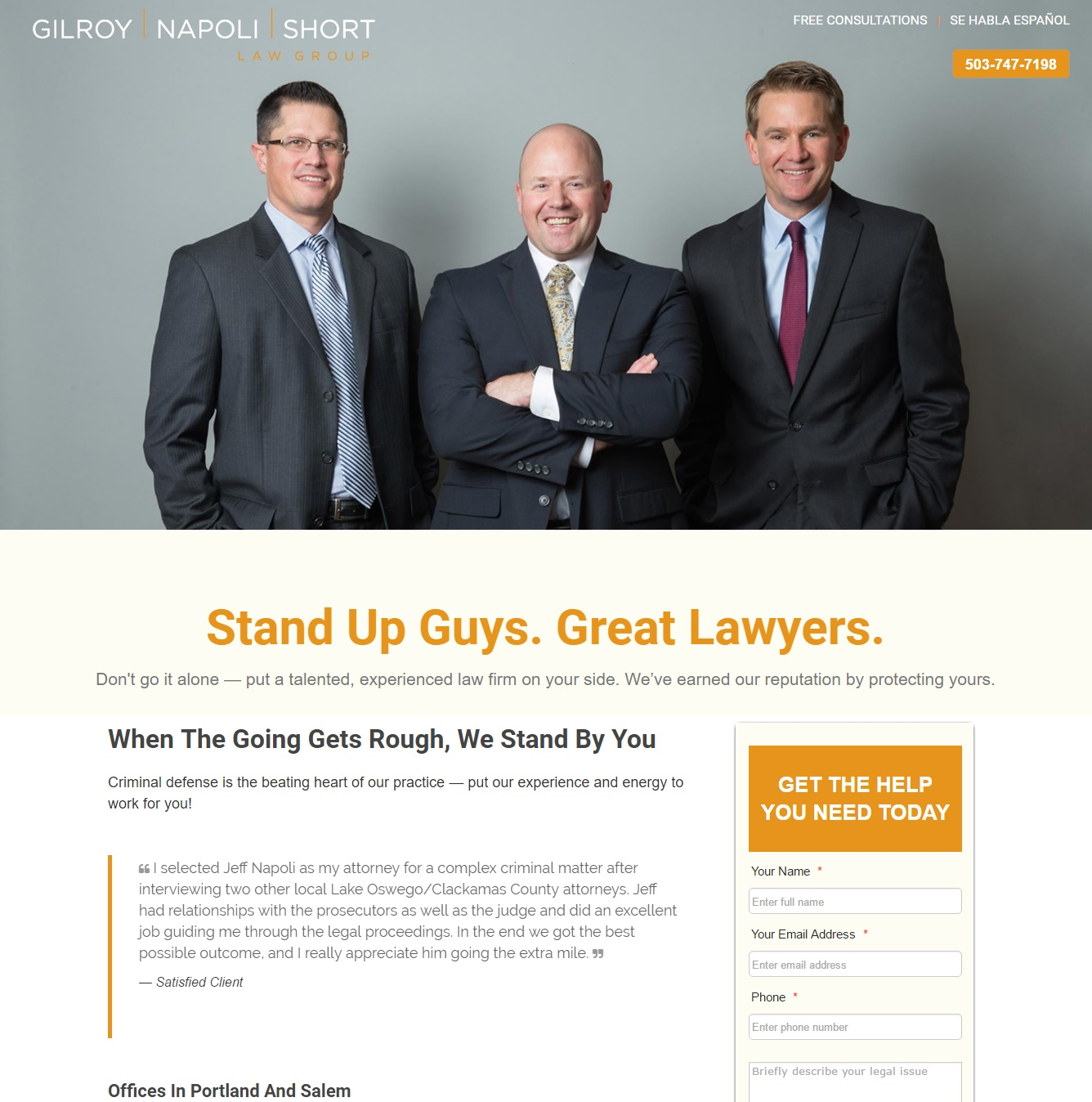 Gilroy Napoli Short Law Group LLP Image