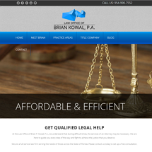 Law Office of Brian Kowal, P.A. Image