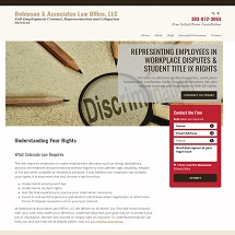 Robinson and Associates Law Office, LLC Image